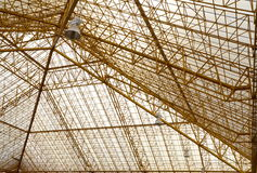 Structureel staal. Royalty-vrije Stock Afbeeldingen