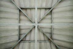 Structureel staaldak Stock Afbeelding