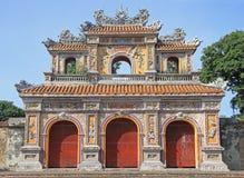 Structuren van Hue Citadel Complex royalty-vrije stock afbeeldingen