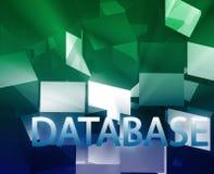 Structures de données de base de données Image libre de droits