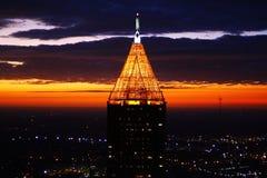 Structures de lever de soleil Images libres de droits