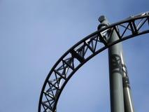Structures de montagnes russes Photographie stock