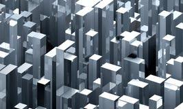 Structures en acier de ville Photos libres de droits