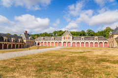 Structures of the estate of Vaux-le-Vicomte, France Royalty Free Stock Image