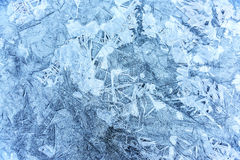 Structures in ice Stock Photos