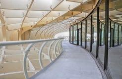 Structures intérieures de parasol de Metropol de l'espace, Séville Photo libre de droits