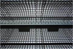 Structures métalliques Images libres de droits