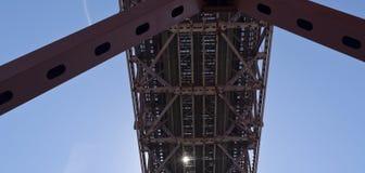 Structures métalliques de Lisbonne Photo libre de droits