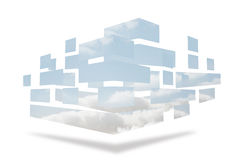 Structures showing sky Royalty Free Stock Photo