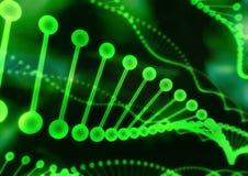 Structuur 01 van DNA Royalty-vrije Stock Foto