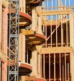 Structuur in aanbouw Royalty-vrije Stock Afbeeldingen