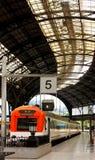 Structuur en dak van het station. Royalty-vrije Stock Afbeelding