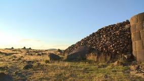 Structuur en Grote Stapel van Stenen stock videobeelden