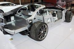 Structuur van Aston Martin db9 Royalty-vrije Stock Fotografie