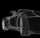 Structuur van de auto Royalty-vrije Stock Afbeeldingen