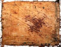 Structuur van de gebarsten houten raad Stock Fotografie