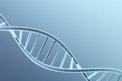 Structuur van DNA van de Concetp de digitale illustratie het 3d teruggeven Royalty-vrije Stock Afbeeldingen