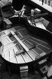 Structuur van gitaar Royalty-vrije Stock Afbeeldingen