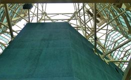 Structuur van staal Stock Foto's