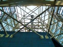 Structuur van staal Royalty-vrije Stock Foto's