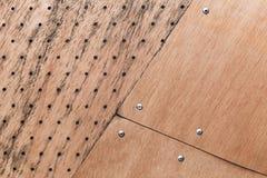 Structuur van triplexbladen dat wordt gemaakt royalty-vrije stock foto's