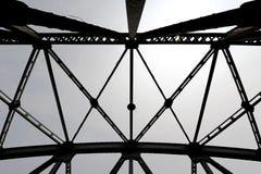 Structuur voor brug Stock Foto's