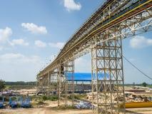 Structuurtransportband Stock Foto's