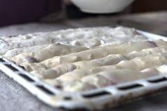 Strude avant la cuisson Image stock