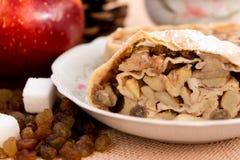 Strudel της Apple πίτα Στοκ Εικόνα