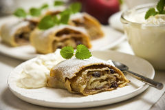 Strudel Stockfotos
