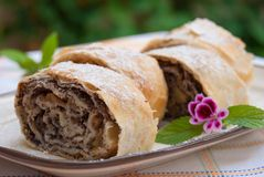 strudel Photos stock