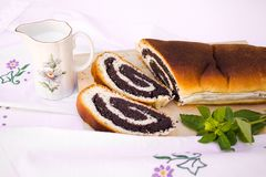 Strudel - cake Royalty Free Stock Images