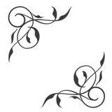 Strudel conner Dekoration, vektor abbildung