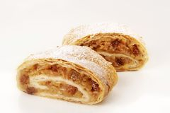Strudel de Apple Foto de Stock Royalty Free