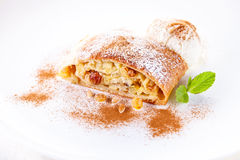 Strudel de Apple Foto de Stock