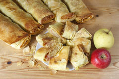 Strudel de Apple Fotos de Stock
