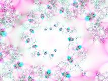 Strudel der Blumen Stockbilder