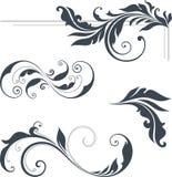 Strudel-Design-Satz Stockfotos