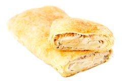 Strudel filling with cabbage Royalty Free Stock Image
