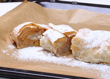 Strudel with Pears Royalty Free Stock Photos