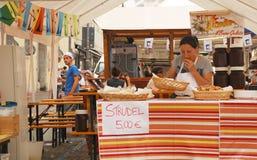 Strudel Stall, Udine Friuli Doc Stock Photography