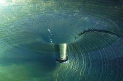 Strudel-Wasser-Turbulenz Stockbilder