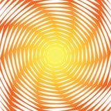 Strudelbewegungs-Illusionshintergrund des Designs sonniger Stockbild