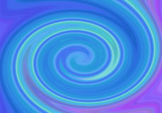 Strudelhintergrund des blauen Grüns Stock Abbildung