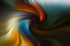 Strudelkunst photoshop der schönen Kunst Lizenzfreie Stockfotos