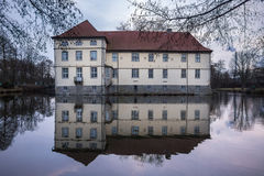 struenkede herne Германия замка стоковые фотографии rf