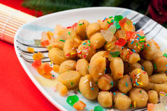 Struffoli Fotos de Stock