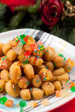 Struffoli Photographie stock