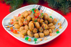 Struffoli Stockfotos