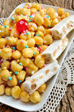 Struffoli Fotos de Stock Royalty Free